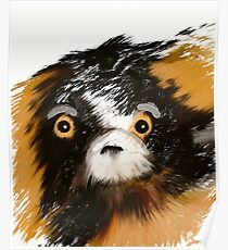 Black and Tan Puppy   Poster