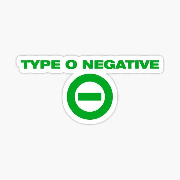 BEST SELLING - Type O Negative Coffin Merchandise Sticker