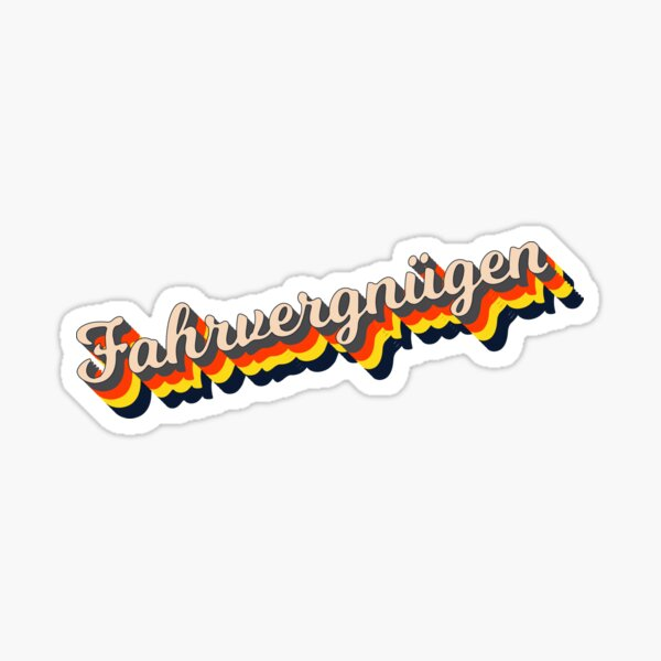 Fahrvergnugen Stickers Redbubble Buy with line stickers shop (150 coins). redbubble