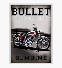Genuine Bullet Photographic Print