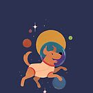 Dog in Space by Kirstendraws