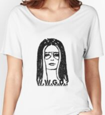 W.W.G.D.?: WHAT WOULD GLORIA DO? Women's Relaxed Fit T-Shirt