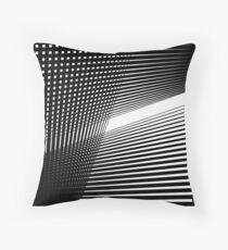Line to Light Throw Pillow