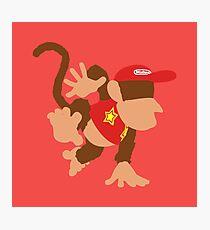Smash Bros - Diddy Kong Photographic Print
