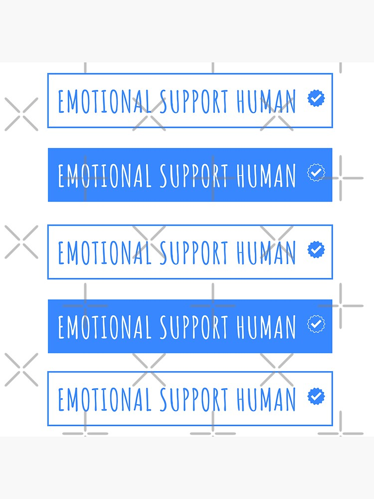 emotional support human funny by a-golden-spiral