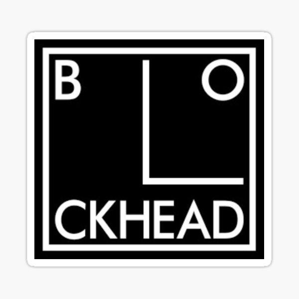 BEST SELLING -  Blockheads Ian Dury Merchandise Sticker