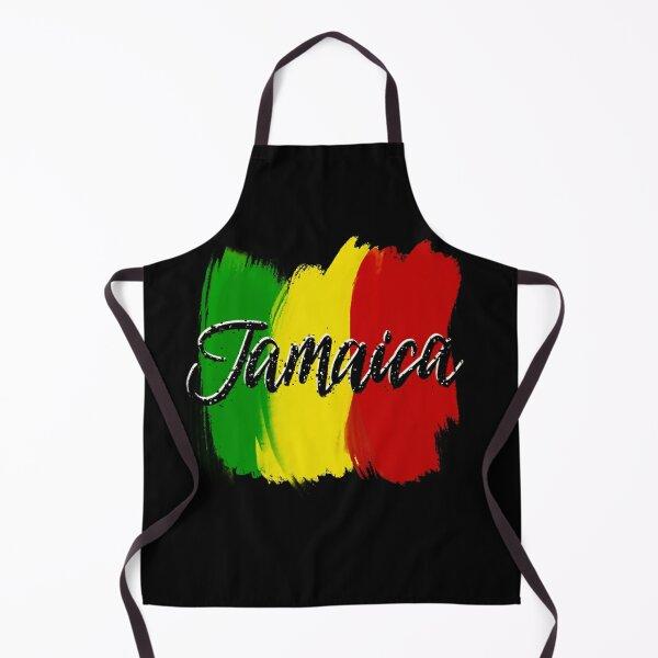 Jamaica Logo text  Apron