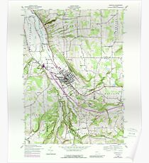New York NY Dansville 137198 1942 24000 Poster