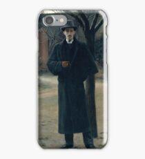 Portrait of Miquel Utrillo, Rusiñol y Prats, Santiago.  iPhone Case/Skin