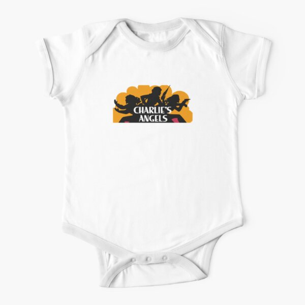 BEST SELLING - Charlie's Angels Merchandise Short Sleeve Baby One-Piece