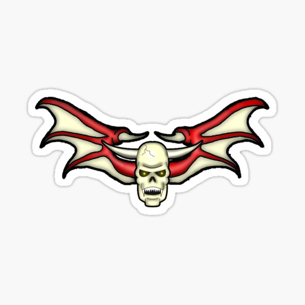 Batskull logo Sticker