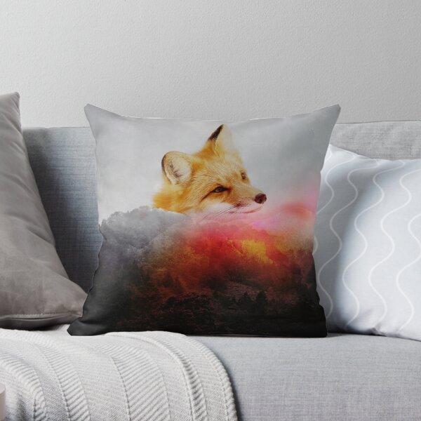 Fox Upon a Time Throw Pillow