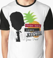 """Lester—""""This baby needs...JEFFSTER!"""" (Chuck TV Show) Graphic T-Shirt"""