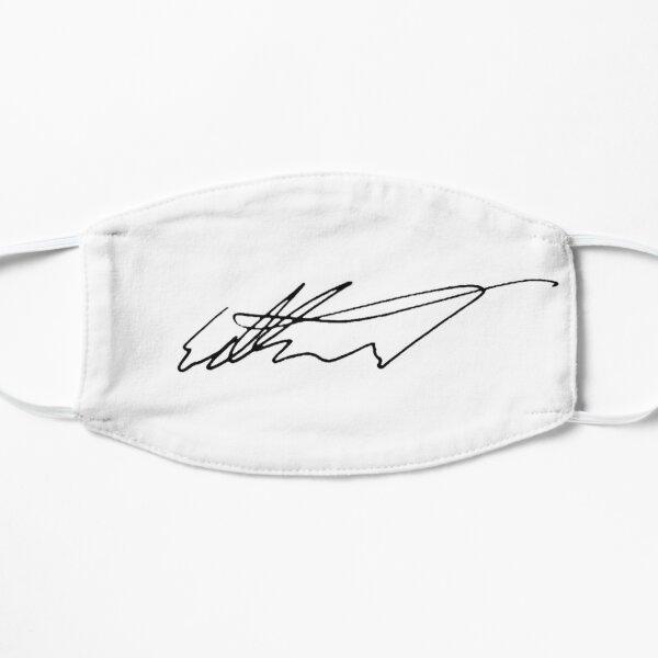 Edward Snowden Signature  Flat Mask