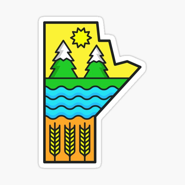 Manitoba Sticker