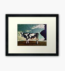 Surreal Bovine Atlas Framed Print