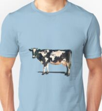 Surreal Bovine Atlas Slim Fit T-Shirt
