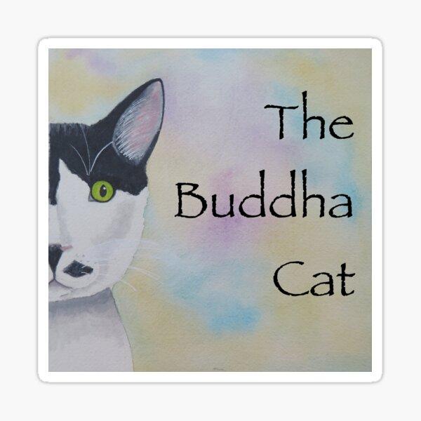 The Buddha Cat Sticker