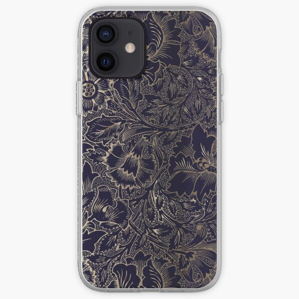 Damas floral | Coques iPhone 12 Pro Coque souple iPhone