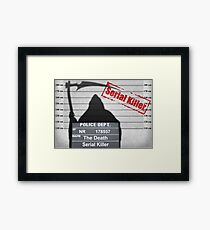 Death arrested Framed Print