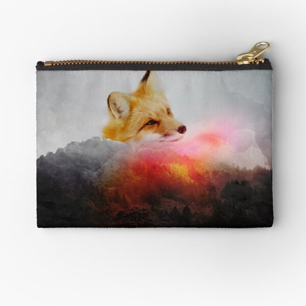 Fox Upon a Time Zipper Pouch