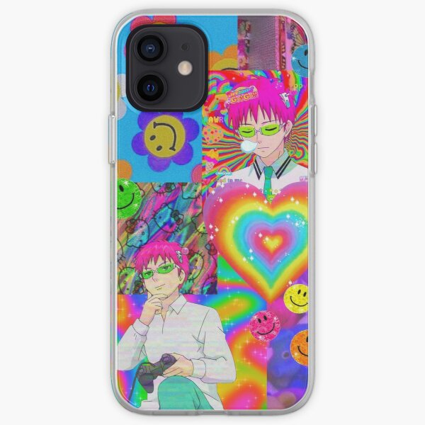 Saiki-K Kidcore Case iPhone Soft Case