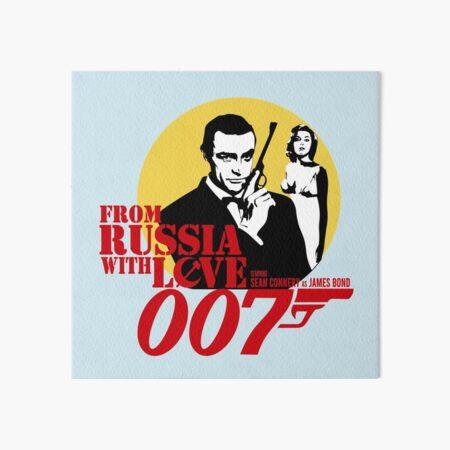 James Bond' Agent 007, Sean Connery design Art Board Print