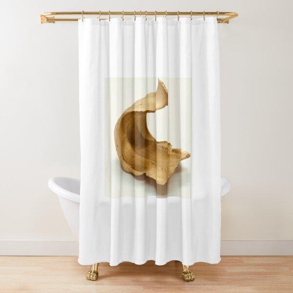 Gold Ceramic Sculpture Made in Melbourne Shower Curtain