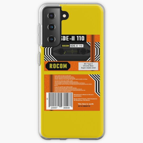 Rocom SDE-II 110 type 2 cassette (front and back) Samsung Galaxy Soft Case
