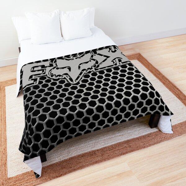 logo metal fox racing Comforter