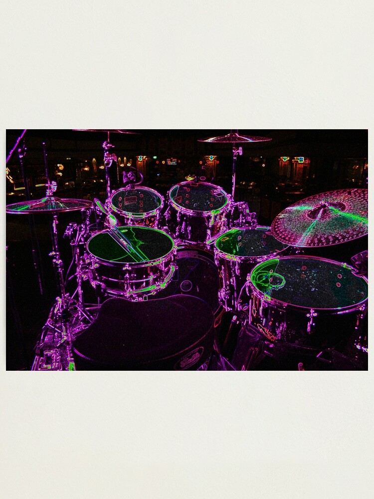 Alternate view of Drums Photographic Print