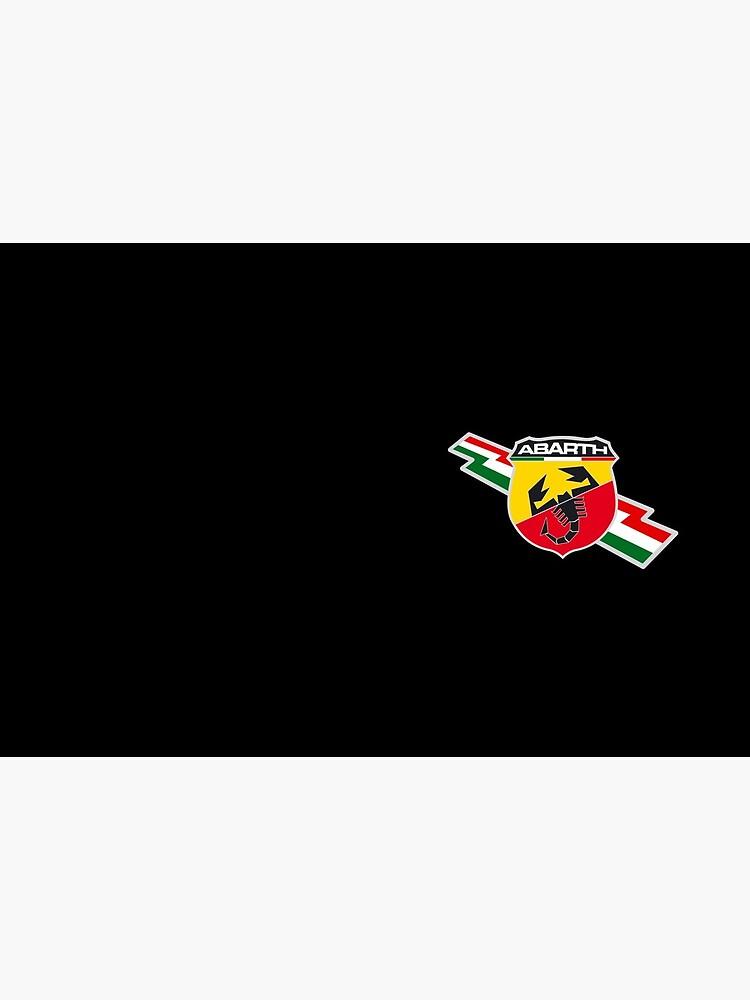 «Drapeau italien logo Abarth» par Drv-Ita-Beasts