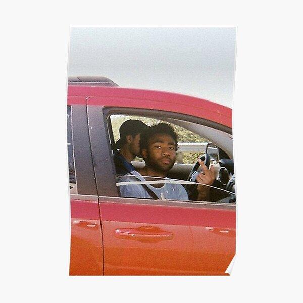 Gambino In Car Poster