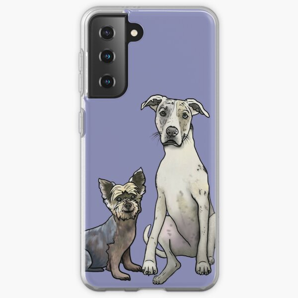 Schnauzer and Friend Samsung Galaxy Soft Case