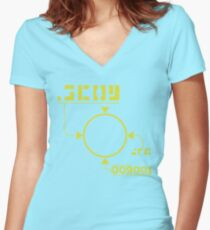 Scouter Women's Fitted V-Neck T-Shirt