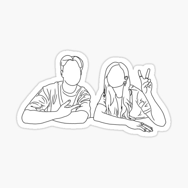 Coloring Pages Stickers Redbubble