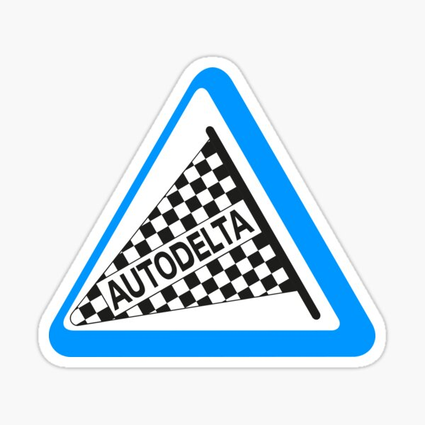 Logo Autodelta Sticker