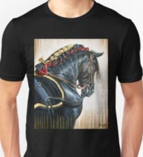 Black Andalusian Beauty Unisex T-Shirt