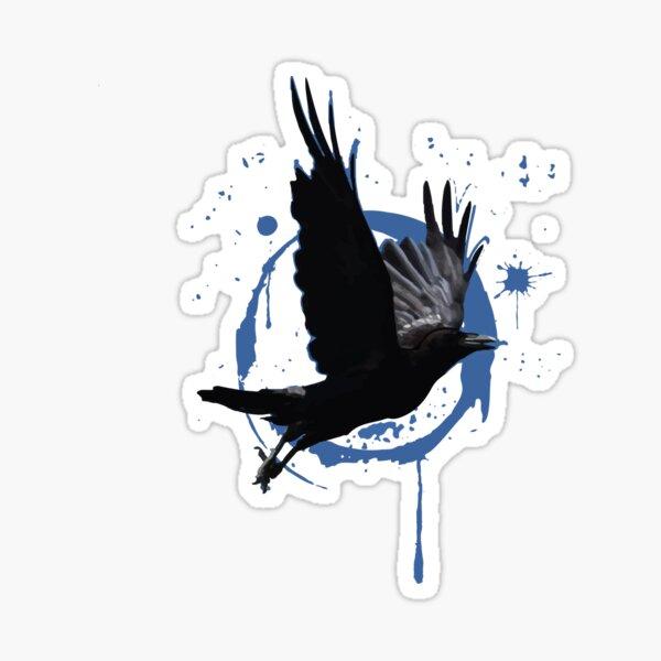 Raven Ink Sticker