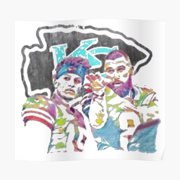 Mahomes & Kelce - Kansas City Chiefs Poster