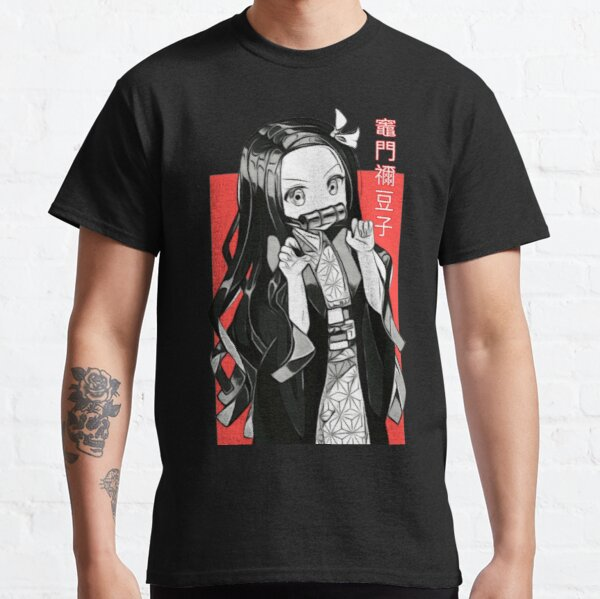 Nezuko Kamado-Kimetsu no Yaiba Demon Slayer T-shirt classique