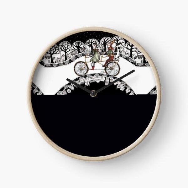 Cycling team Clock