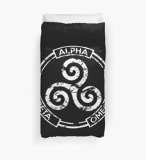 Alpha Beta Omega - Teen Wolf Duvet Cover