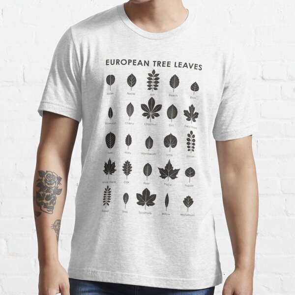 European Tree Leaves (Englisch) Essential T-Shirt