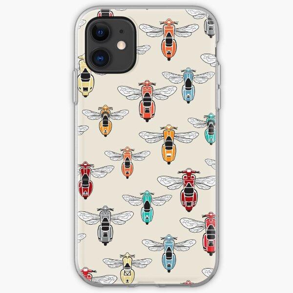 DoubleGood Vespa Wasp pattern iPhone Soft Case