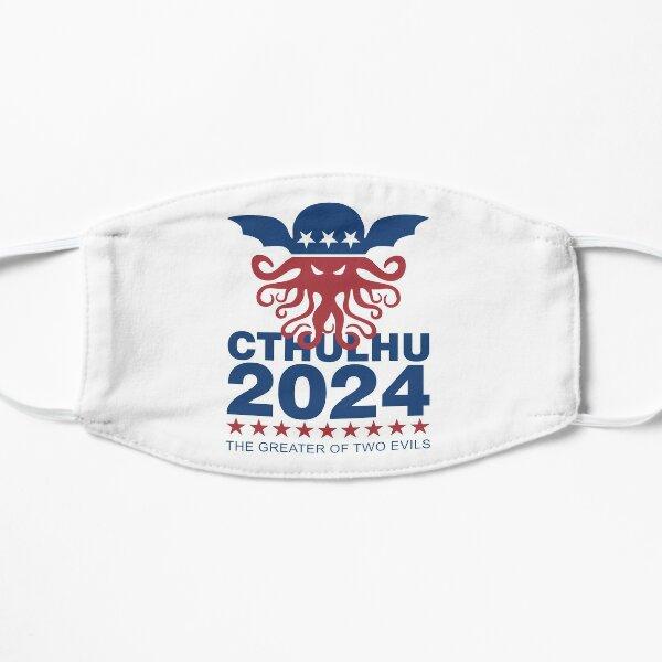 Vote Cthulhu 2024 Flat Mask