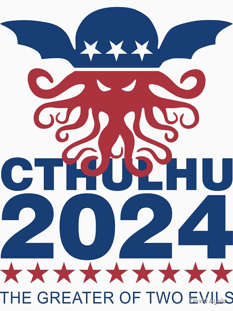 Vote Cthulhu 2024 by DavidAyala