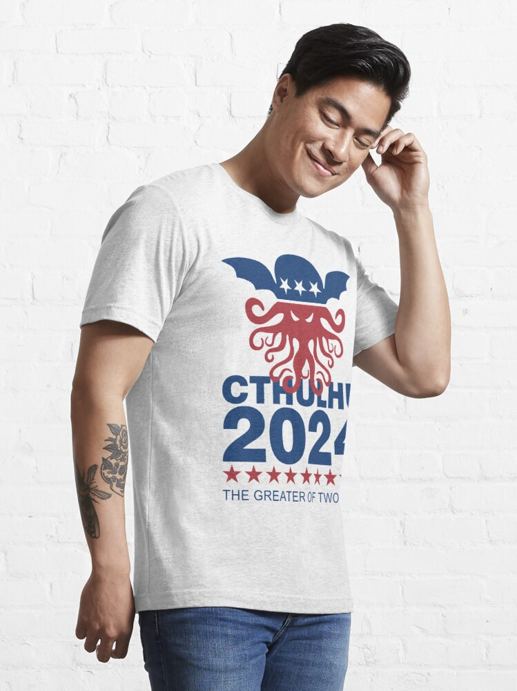 Alternate view of Vote Cthulhu 2024 Essential T-Shirt