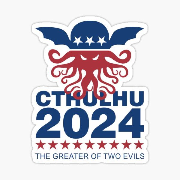 Vote Cthulhu 2024 Sticker
