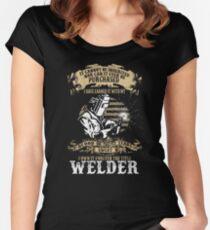 welder Women's Fitted Scoop T-Shirt